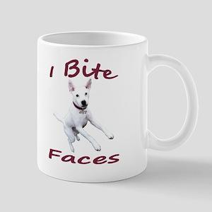 I bite faces Mug