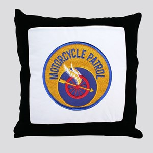 NOPD Motors Throw Pillow