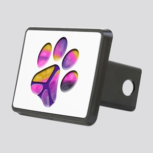 Peaceful Paw Print Hitch Cover