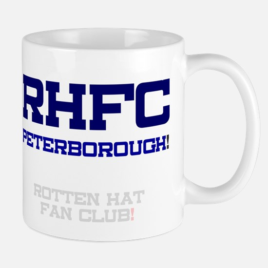 RHFC PETERBOROUGH - ROTTEN HAT FAN CLUB! Small Mug