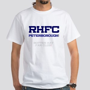 RHFC PETERBOROUGH - ROTTEN HAT FAN CLUB! T-Shirt