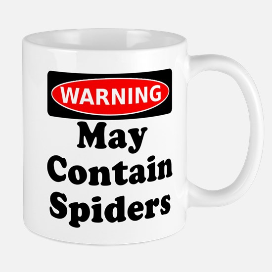 May Contain Spiders Mug