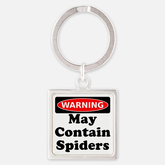 May Contain Spiders Keychains