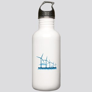 Offshore Wind Farm Water Bottle