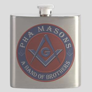 Prince Hall Masons. A band of brothers Flask