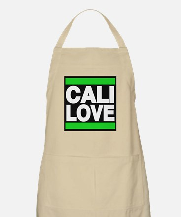 cali love green Apron