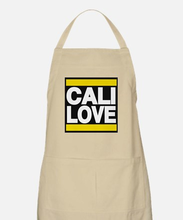 cali love yellow Apron