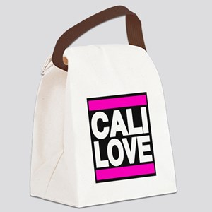 cali love pink Canvas Lunch Bag
