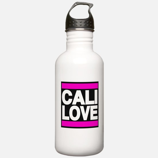 cali love pink Water Bottle