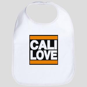 cali love orange Bib
