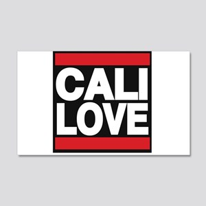 cali love red Wall Decal