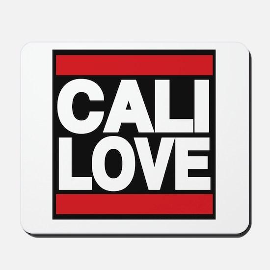 cali love red Mousepad