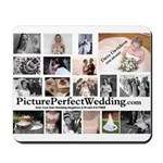 Picture Perfect Wedding Mousepad