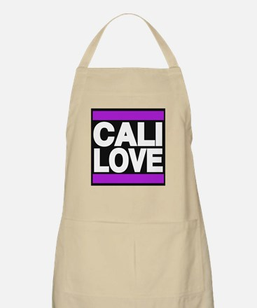 cali love purple Apron