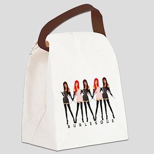 Burlesque Dancers Canvas Lunch Bag