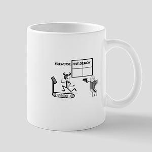 Exercise the Demon Mug