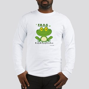 F.R.O.G. Fully, Relying,On,God Long Sleeve T-Shirt