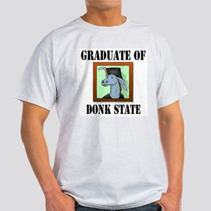 Graduate of Donk U. Ash Grey T-Shirt