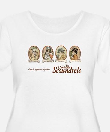 scoundrels copy.jpg Plus Size T-Shirt