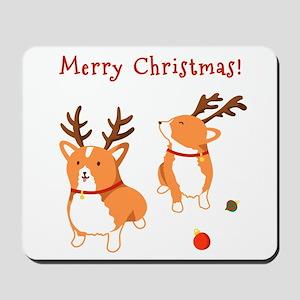 Corgi Christmas - Mousepad