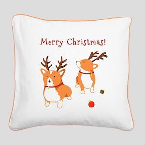 Corgi Christmas - Canvas Pillow