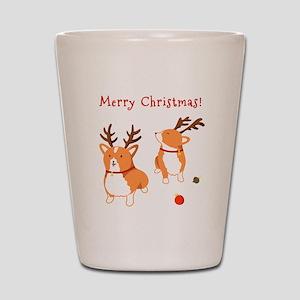 Corgi Christmas - Shot Glass