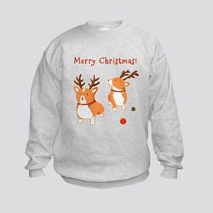 Corgi Christmas - Kids Sweatshirt