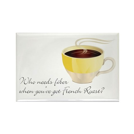 French Roast Rectangle Magnet