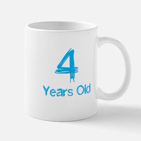 4 Years Old Mug