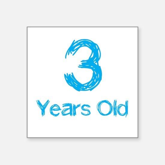 3 Years Old Sticker