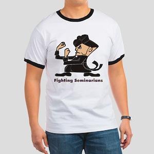 Fighting Seminarian Ringer-Shirt