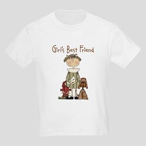 Girl's Best Friend Kids T-Shirt