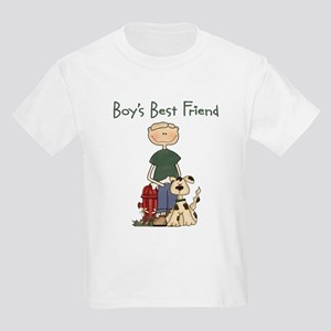 Boy's Best Friend Kids T-Shirt