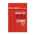 "Mini ""What Do You Stand For?"" Poster Pri"