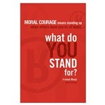 "Large ""What Do You Stand For?"" Poster"