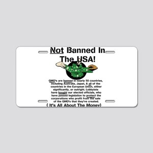 Not Banned In The USA! Aluminum License Plate