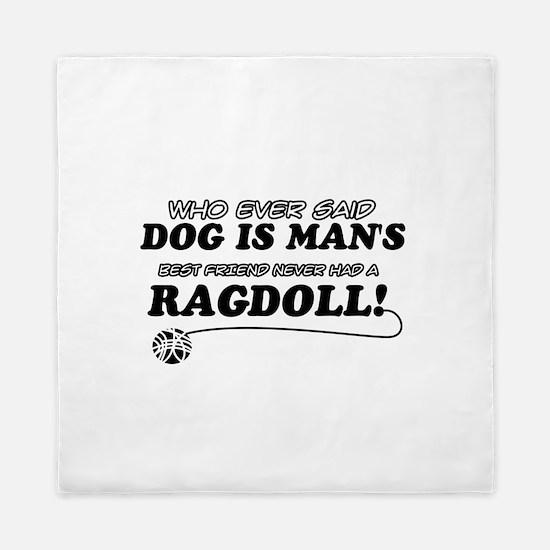 Ragdoll Cat designs Queen Duvet