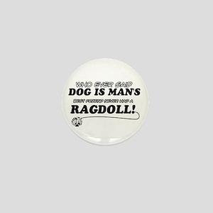 Ragdoll Cat designs Mini Button