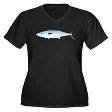 Cero Mackerel Plus Size T-Shirt