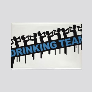 10_drinking_team Rectangle Magnet