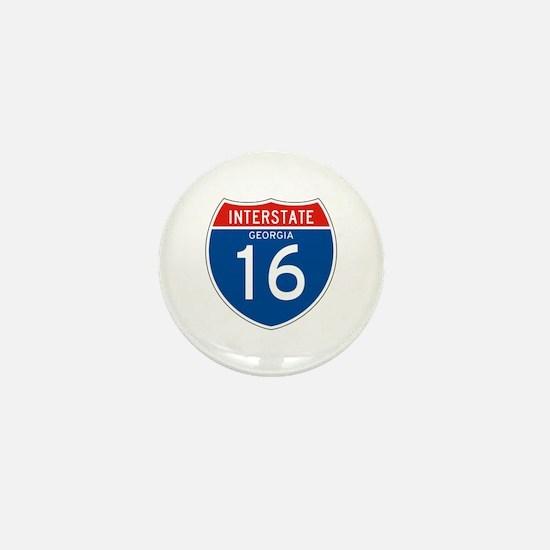 Interstate 80 - WY Mini Button