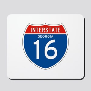 Interstate 80 - WY Mousepad