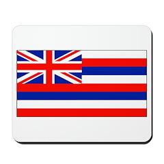 Hawaii Hawaiian Blank Flag Mouse Pad