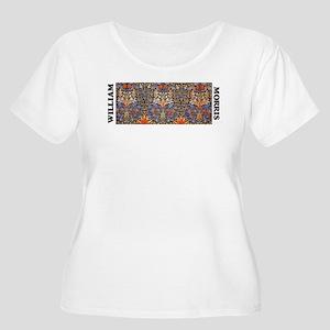 Morris Snakeshead design Plus Size T-Shirt