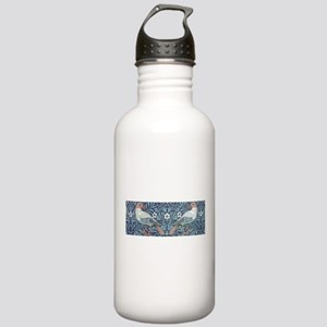 William Morris Blue Tapestry design Water Bottle