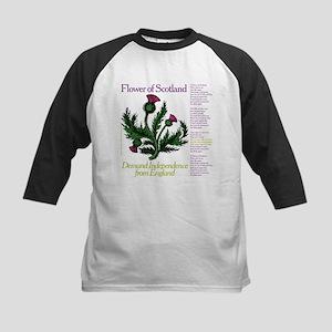 Flower Kids Baseball Jersey