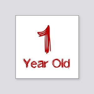 1 Year Old Sticker