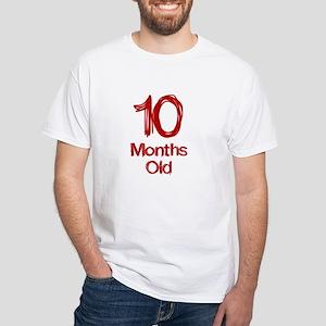 10 Months Old Baby Milestones T-Shirt