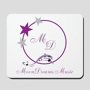 MoonDreams Music Logo Mousepad