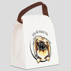 Pekingese IAAM Canvas Lunch Bag